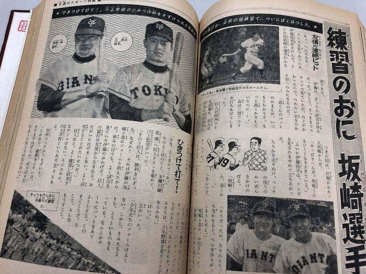 過去の「週刊少年マガジン」1961年36号