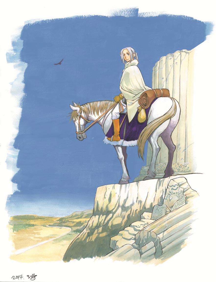 最新12巻発売記念Web原画展! 荒川弘先生が描く『アルスラーン戦記』の世界