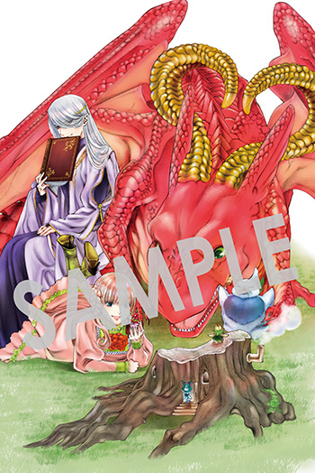 『ドラゴン、家を買う。』第7巻 イラストカード