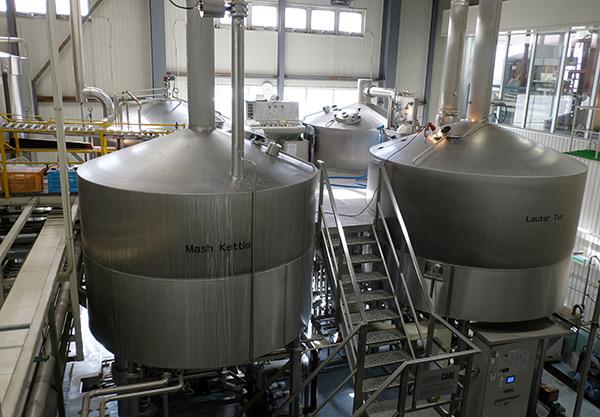 エチゴビール 設備