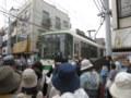 都電荒川線、庚申塚駅付近にて