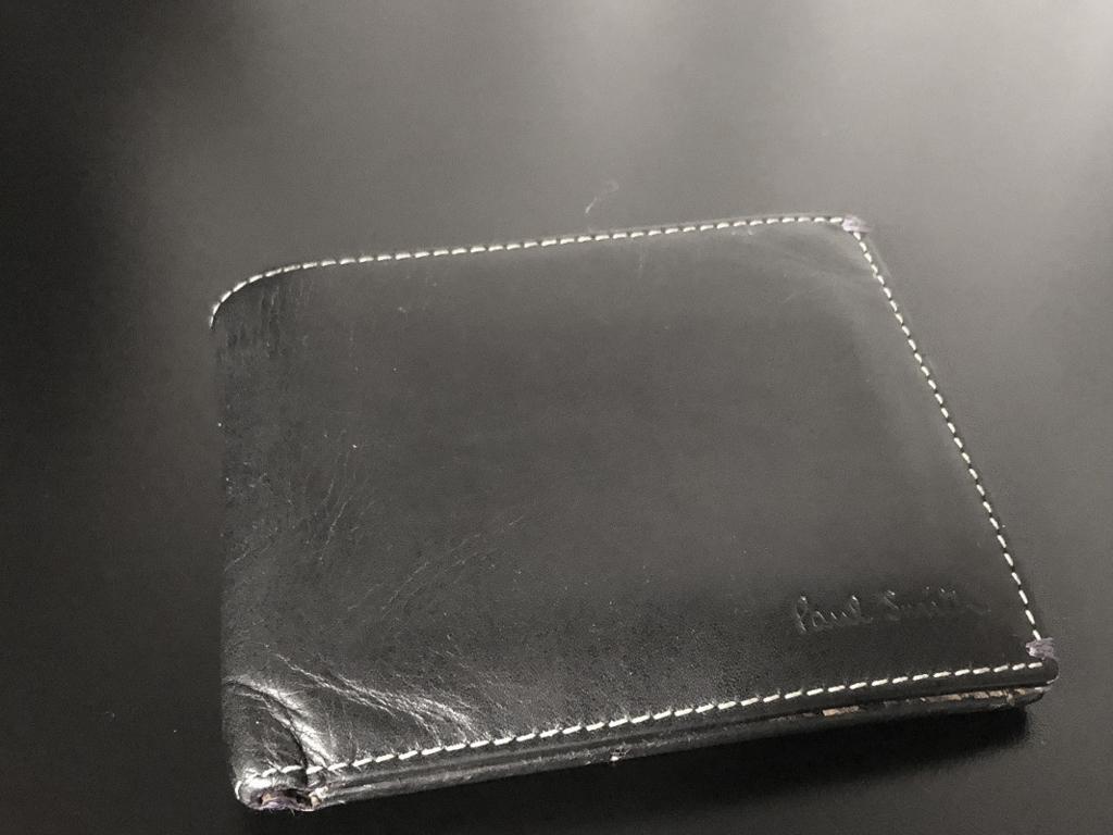 さらば ありがとうpaul Smith 新しい財布を購入しました 1978