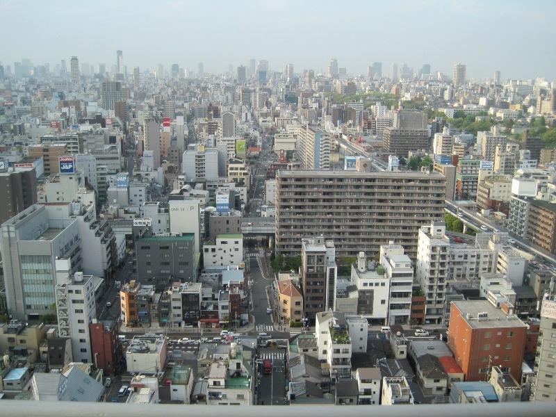 大阪,通天閣より(大阪市)