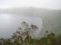 霧(笑)の摩周湖(北海道川上郡弟子屈町,第一展望台)