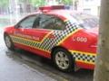 メルボルンのパトカー(VIC,オーストラリア)