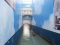 改装工事中(泣)のため息の橋(ヴェネツィア,イタリア)