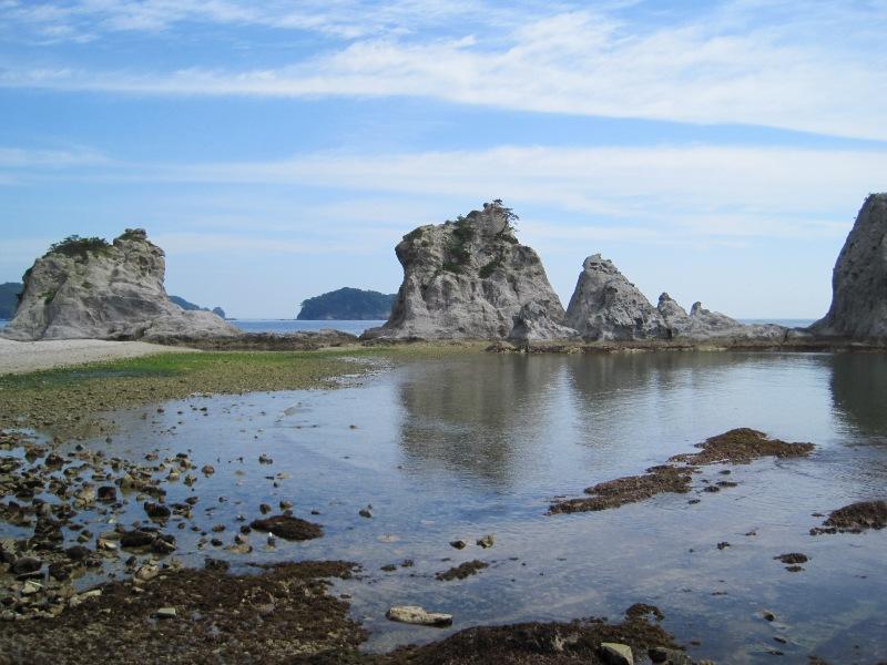 浄土ヶ浜(岩手県宮古)