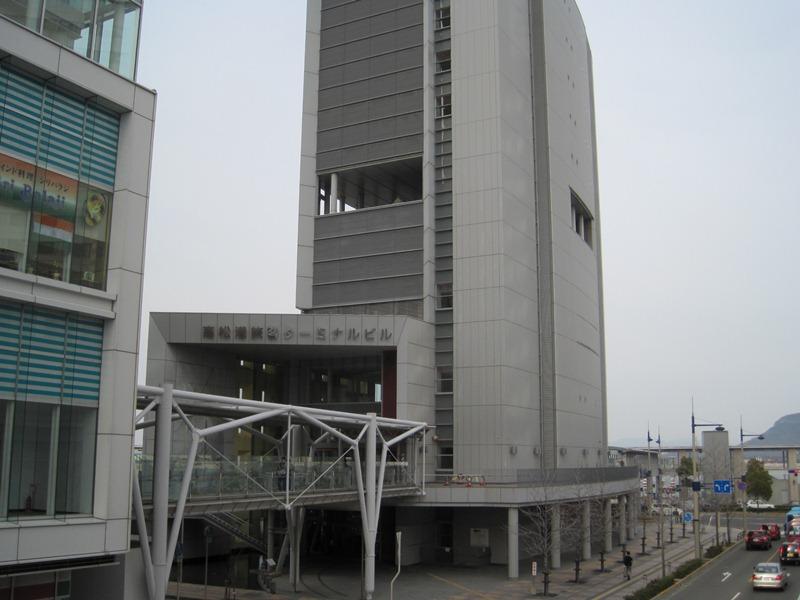 高松港旅客ターミナルビル(香川県高松市)
