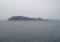 女木島(鬼ヶ島)(中央),男木島(その右),豊島(右奥)(香川県)
