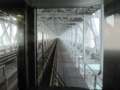 マリンライナーの車窓から,下津井瀬戸大橋(岡山県・香川県)