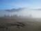 ブロモ火山(砂の海)(東ジャワ州,インドネシア)