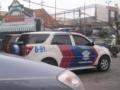 インドネシアのパトカー3(東ジャワ州,インドネシア)