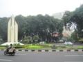 スラバヤ市内(東ジャワ州,インドネシア)