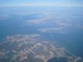 霊興島(下),仙才島(中央の小さい島),大阜島(中央やや上)(韓国仁川)