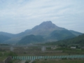 平成新山,水無大橋より,溶岩ドームの方が素晴らしい(笑(長崎県)
