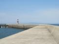 島原灯台,英国のロー灯台風デザインやね,素晴らしい(長崎県島原市)
