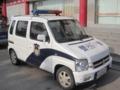 西安のパトカー(中国陝西省西安市)