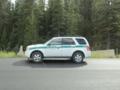 バンフのパトカー(Parks Canada)(バンフ国立公園,アルバータ州,カナダ)