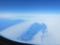 ベーリング海峡上空(USA&ロシア)