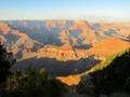 日没15分前のグランド・キャニオン,Yaki Point(アリゾナ州,USA)