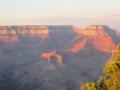 日没10分前のグランド・キャニオン,Yaki Point(アリゾナ州,USA)