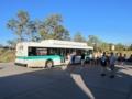 グランド・キャニオン,公園内シャトルバス(アリゾナ州,USA)