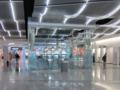 マッカラン国際空港,T1コンコースDの喫煙室(やり過ぎ)(Sin City,NV,USA)