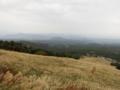 大山高原天空リフト展望台からの日本海へのグラデーション(鳥取県)