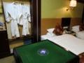 全自動麻雀卓付のホテルの部屋(爆(中国重慶市雲陽県)