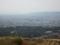 若草山からの眺め,大和郡山市方向(奈良県)