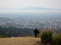 若草山からの眺め,金剛山方向(奈良県)