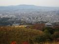 若草山からの眺め,奈良市中心部(奈良県)