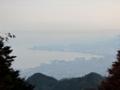ケーブル延暦寺駅(坂本ケーブル)からの眺め,大津市街方向(滋賀県)