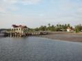 Pak Meng Pier,島観光の大きい方のベース(マイファート,トラン県,タイ)