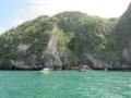 ムック島,Emerald Caveの入口(チャオマイ国立公園,トラン県,タイ)