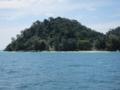 クラダン島,東側(白砂側)(チャオマイ国立公園,トラン県,タイ)
