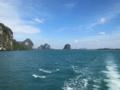 アンダマン海(トラン本土方向)(トラン県,タイ)