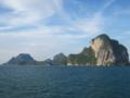 アンダマン海(ランタ島方向)(トラン県,タイ)