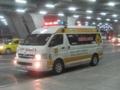 タイの救急車(スワンナプーム国際空港,タイ)