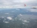 イサログ山(奥)とバアオ湖(手前)(南カマリネス州,フィリピン)