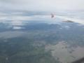 バアオ湖(左)とベイトー湖(バトー湖)(右下)(南カマリネス州,フィリピン)
