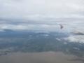 イサログ山(左)とアイリーガ山(右)(南カマリネス州,フィリピン)