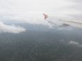リガオの南の地形(アルバイ州,ビコル地方,フィリピン)