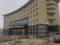土楼風のホテル(笑(中国福建省永定県湖杭鎮)