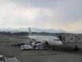 春秋航空(高松空港にて)