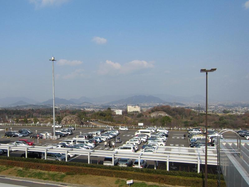 高松空港送迎デッキからの展望(香川県高松市)