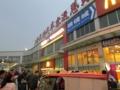 上海長距離バスターミナル(上海長途汽車客運総站)(中国上海市閘北区)