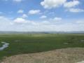 紅原の草原(中国四川省アバ自治州紅原県)