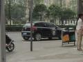 成都のパトカー(中国四川省成都市)