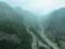 G213沿いの風景(中国四川省アバ自治州汶川県)
